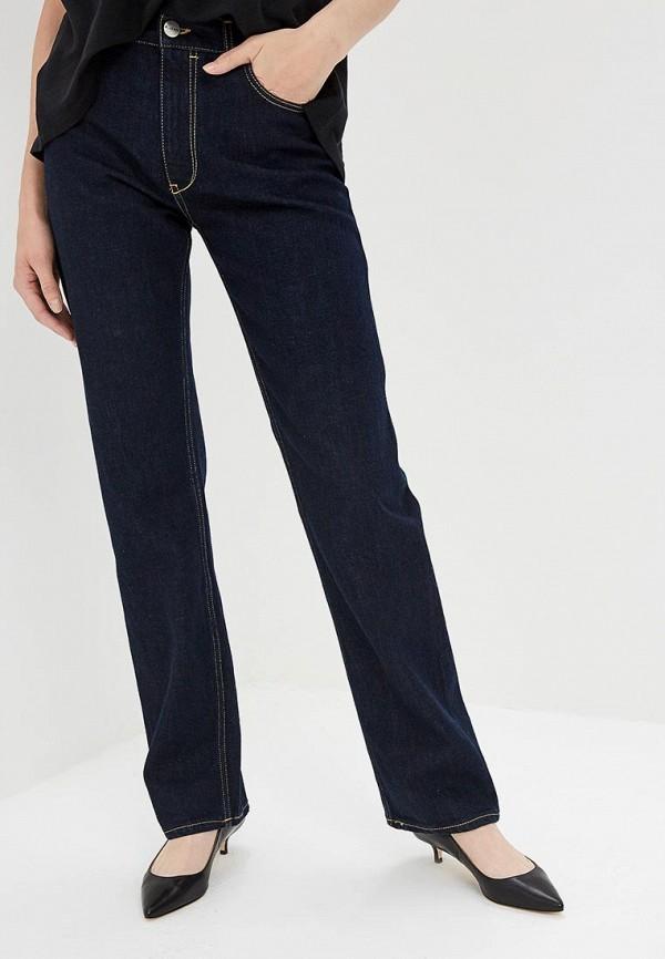 женские прямые джинсы p jean, синие