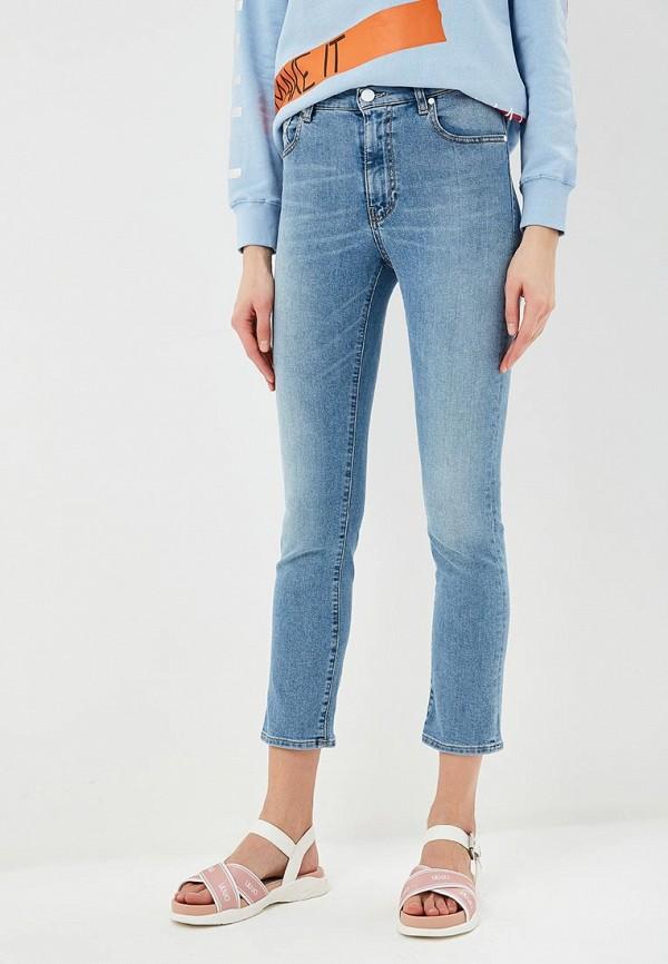 женские джинсы p jean, голубые