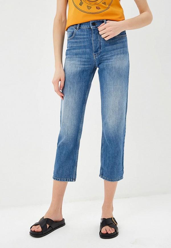 женские джинсы бойфренд p jean, синие