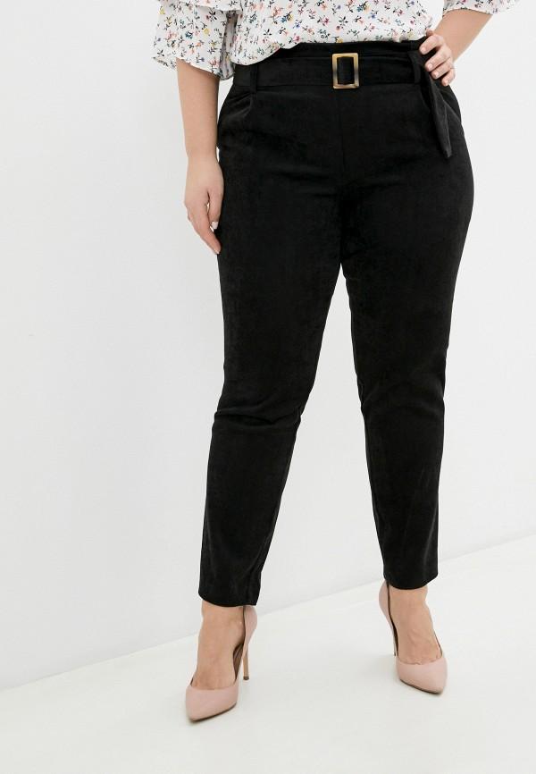 женские повседневные брюки please, черные
