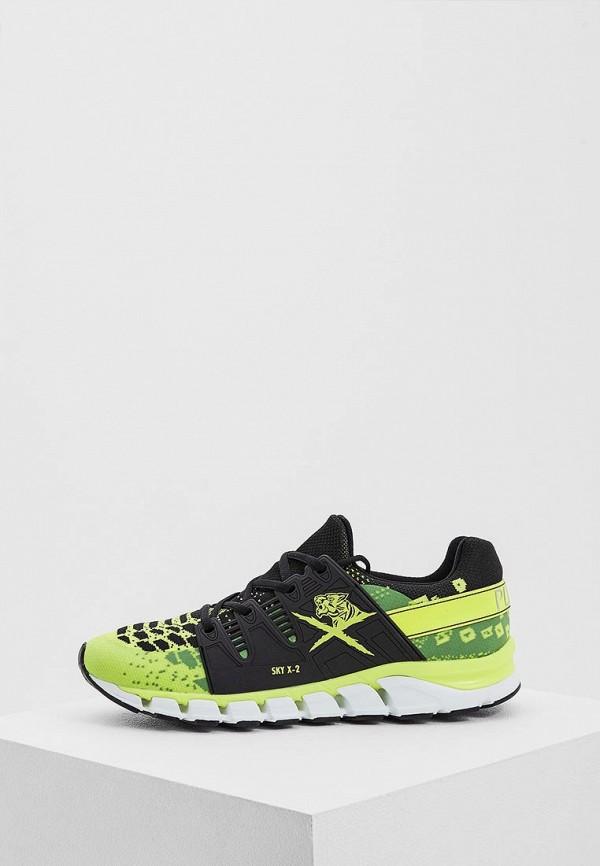 мужские кроссовки plein sport, зеленые