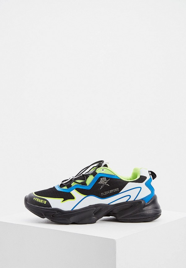 Фото - мужские кроссовки Plein Sport черного цвета