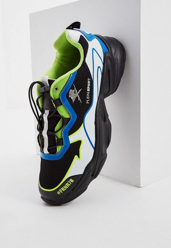 Фото 2 - мужские кроссовки Plein Sport черного цвета