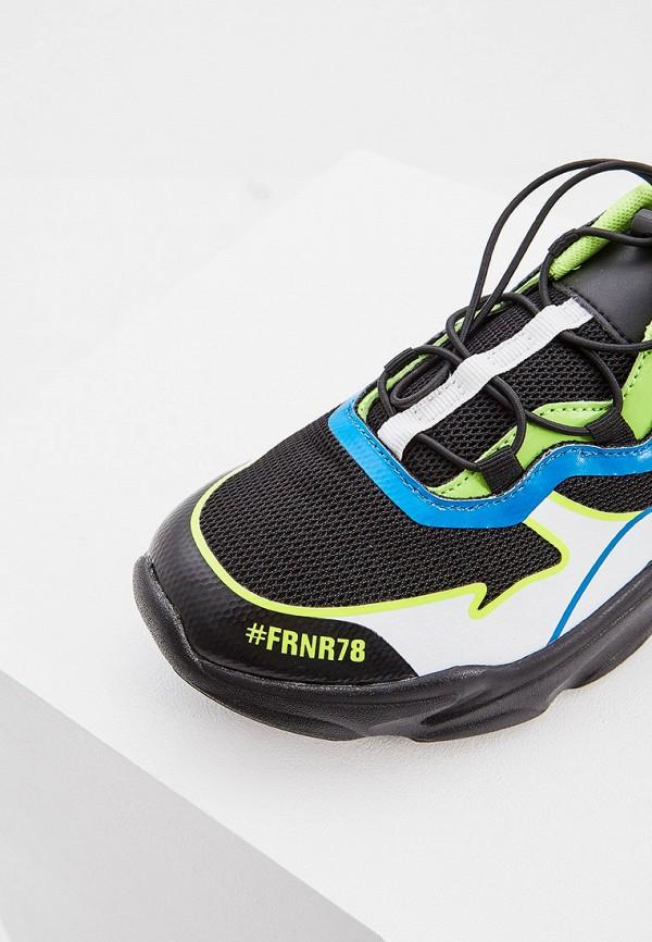 Фото 4 - мужские кроссовки Plein Sport черного цвета