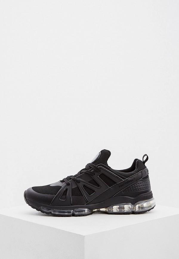 мужские низкие кроссовки plein sport, черные