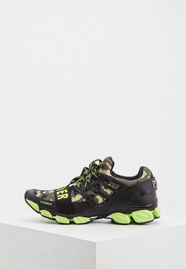 мужские низкие кроссовки plein sport, зеленые