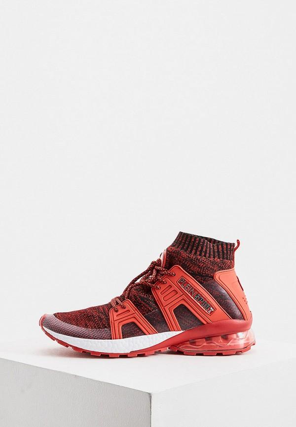мужские кроссовки plein sport, красные