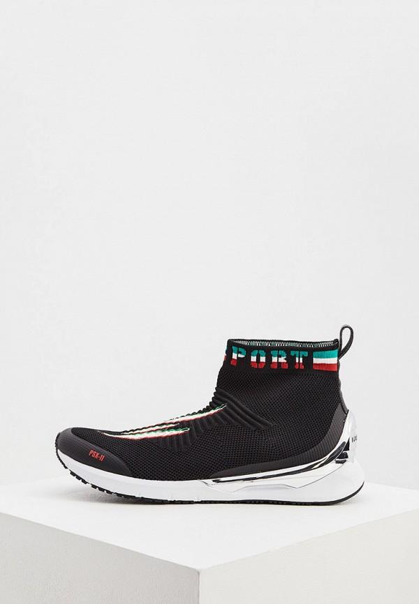 мужские кроссовки plein sport, черные