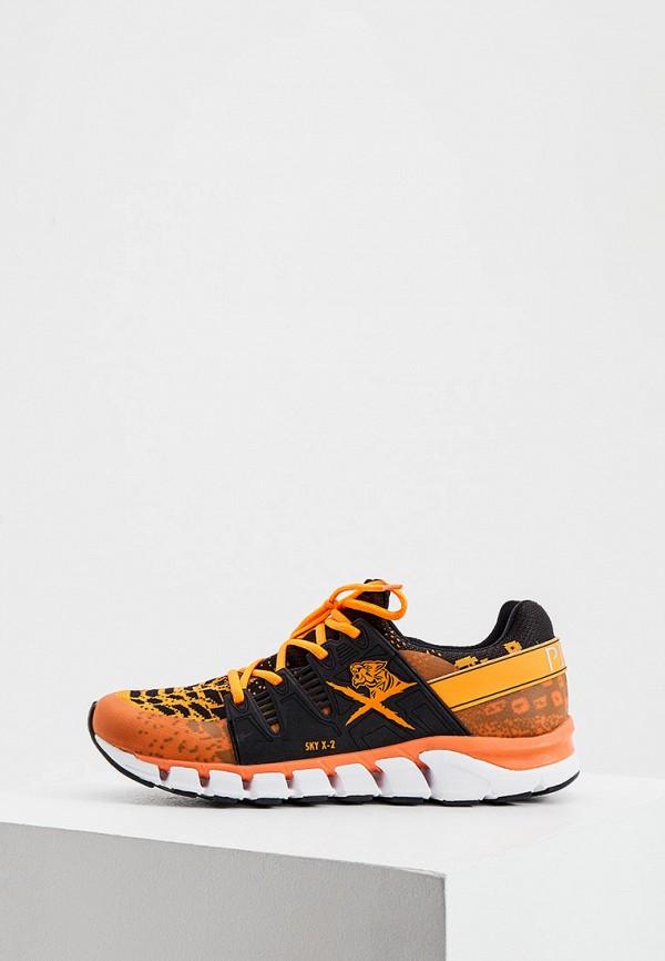 мужские кроссовки plein sport, оранжевые