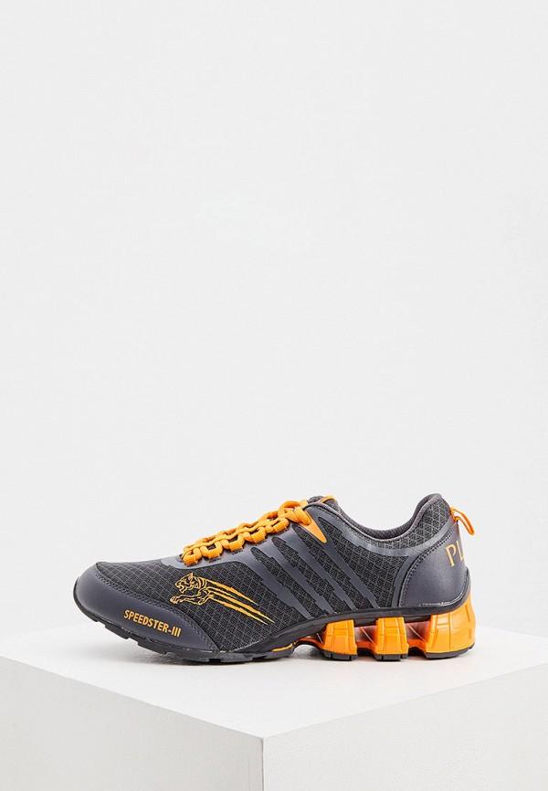 мужские кроссовки plein sport, серые
