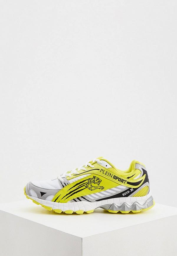мужские кроссовки plein sport, желтые