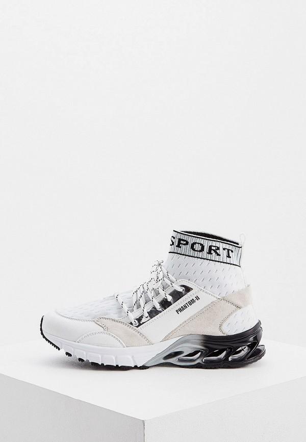 Фото - женские кроссовки Plein Sport белого цвета