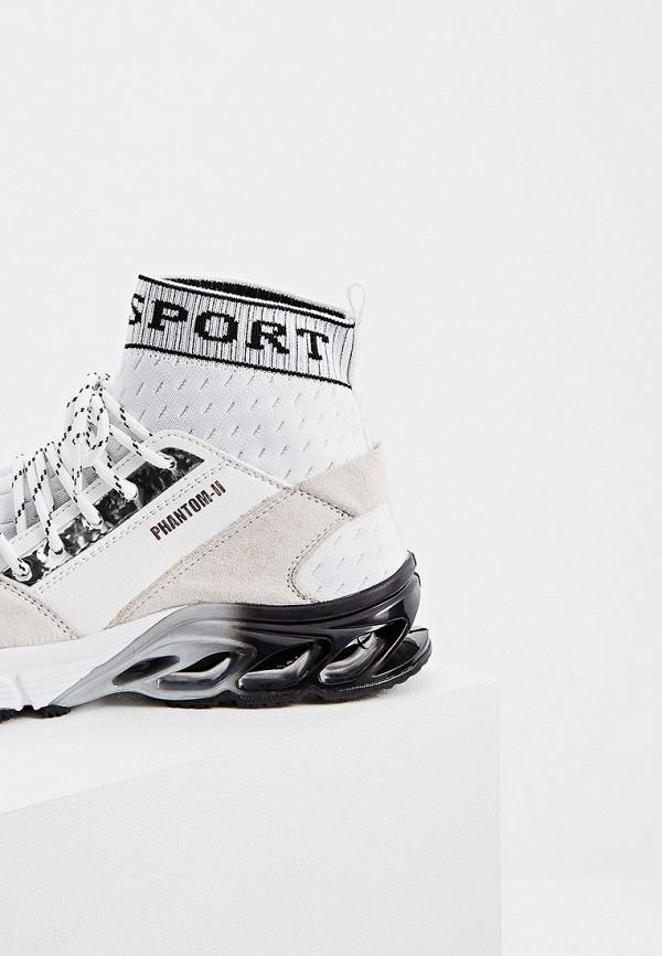 Фото 2 - женские кроссовки Plein Sport белого цвета