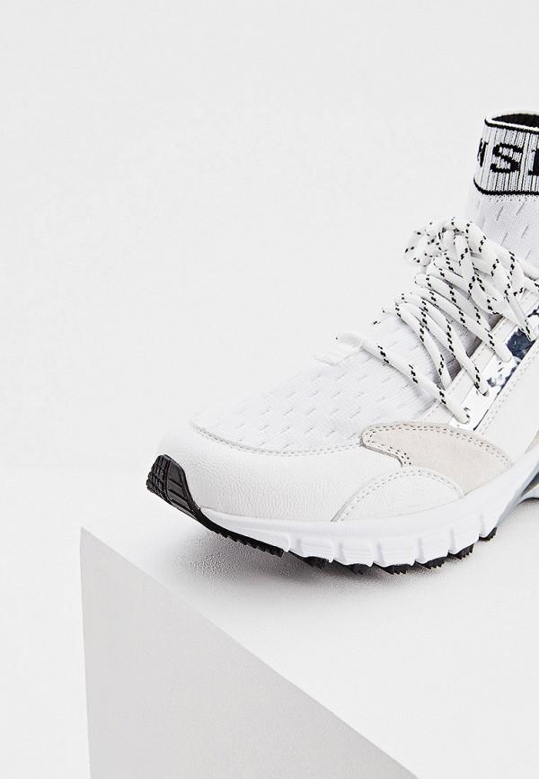 Фото 4 - женские кроссовки Plein Sport белого цвета