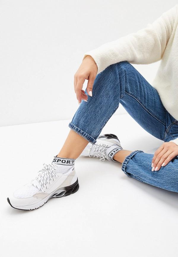 Фото 6 - женские кроссовки Plein Sport белого цвета