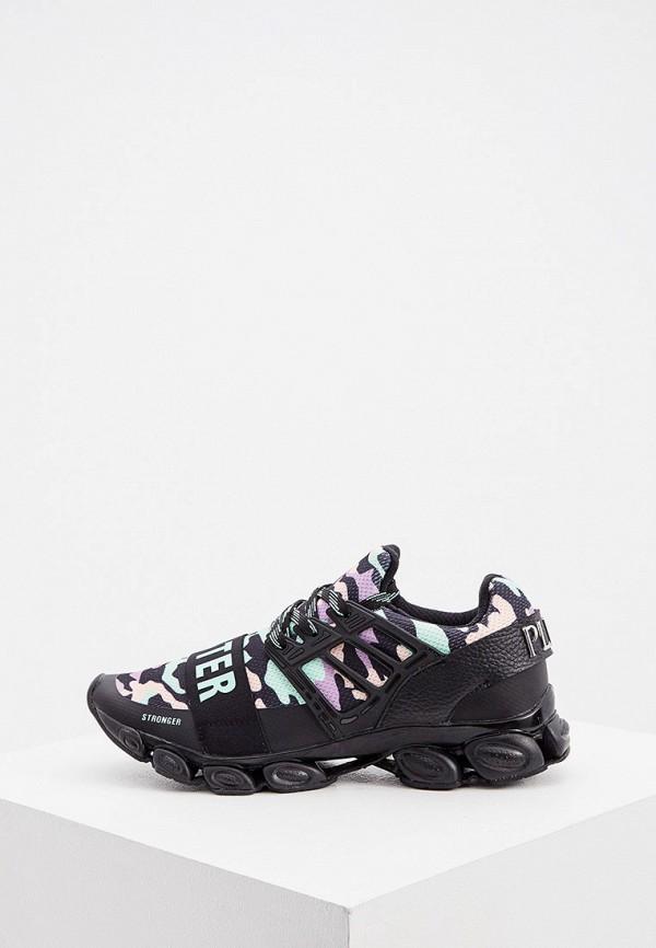 женские кроссовки plein sport, черные