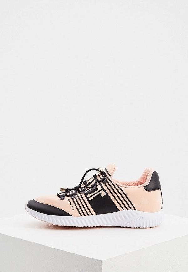 женские кроссовки plein sport, розовые