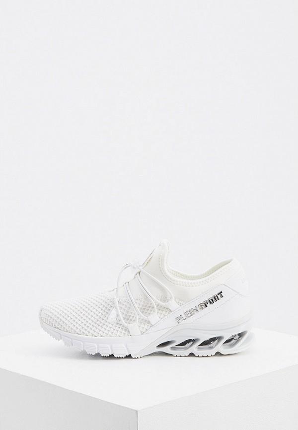женские кроссовки plein sport, белые