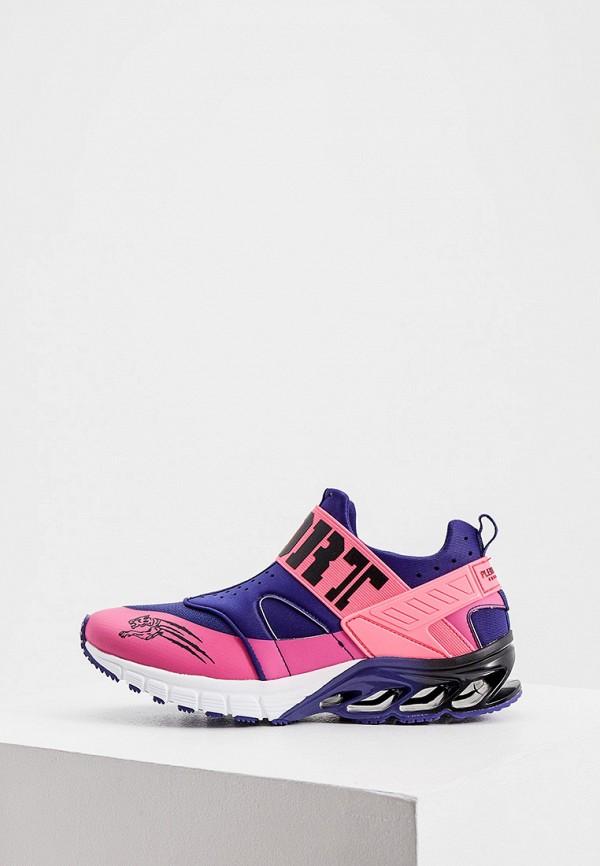женские кроссовки plein sport, фиолетовые
