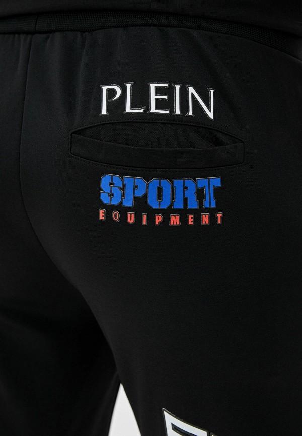 Фото 4 - Брюки спортивные Plein Sport черного цвета