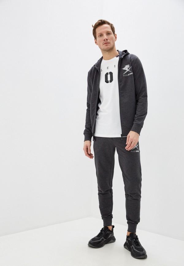 мужской спортивный костюм plein sport, серый