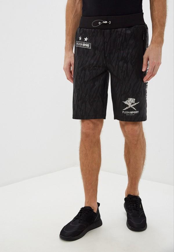 мужские спортивные шорты plein sport, черные