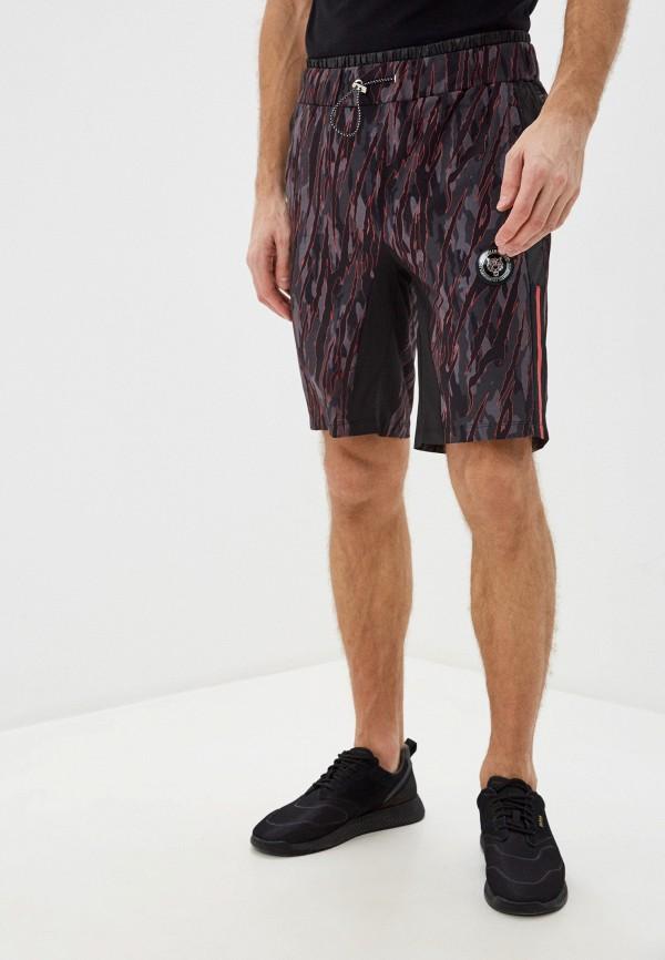 мужские спортивные шорты plein sport, серые