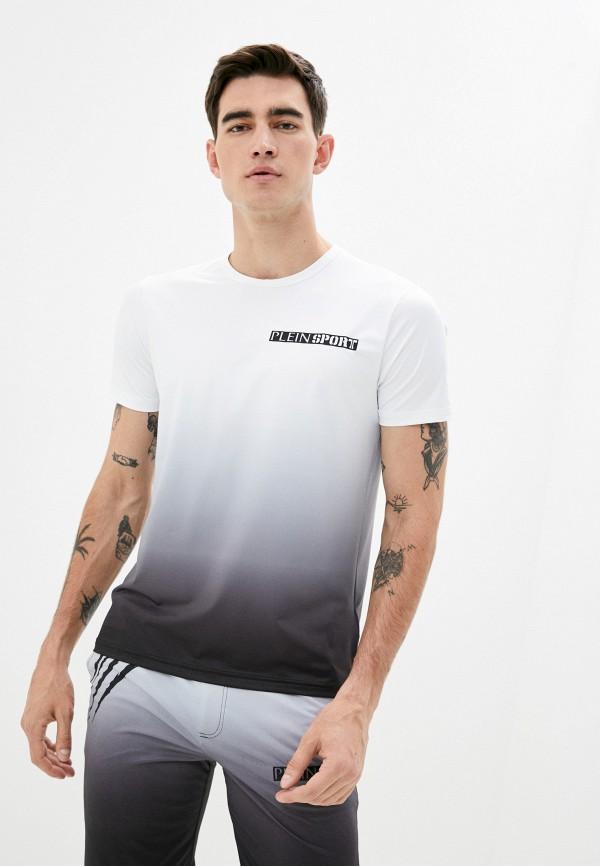мужская футболка plein sport, белая