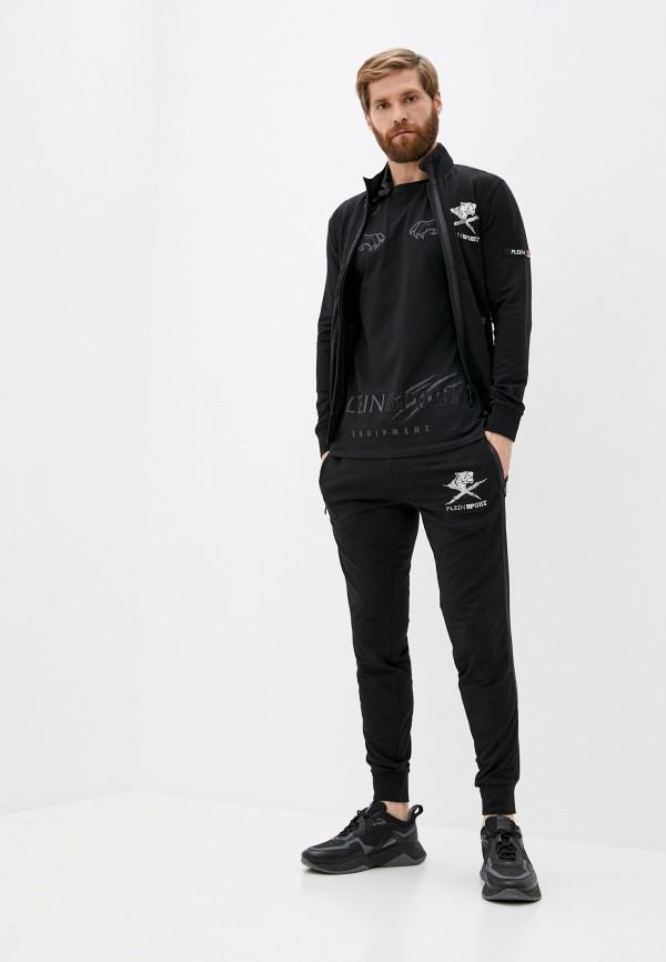 мужской спортивный костюм plein sport, черный
