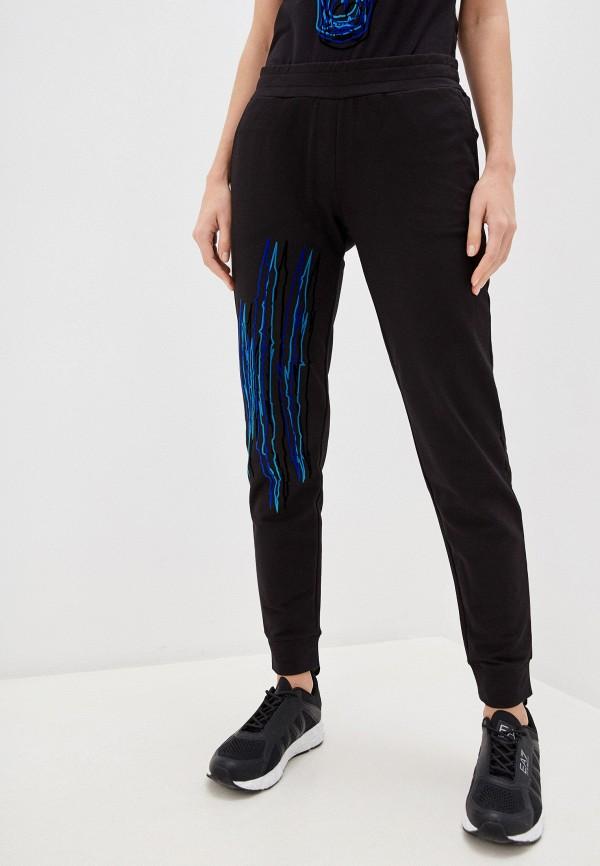 женские спортивные брюки plein sport, черные