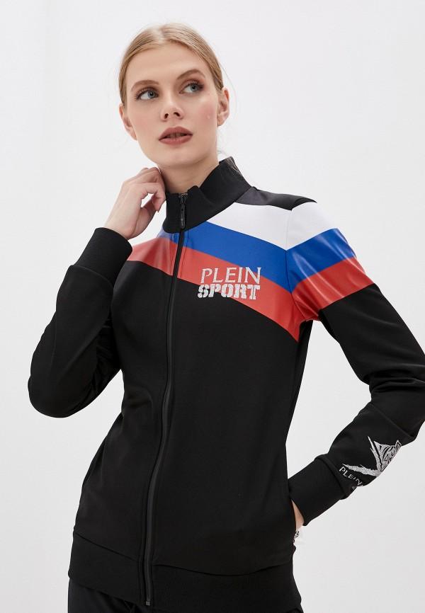 женская олимпийка plein sport, черная