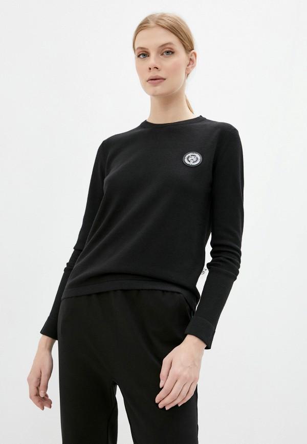 женский джемпер plein sport, черный