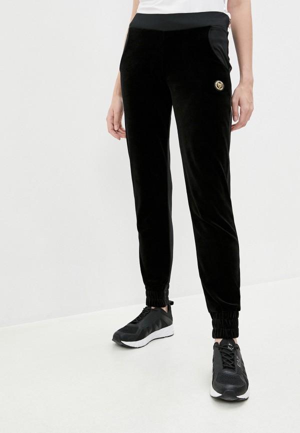 женские спортивные брюки plein sport, серебряные