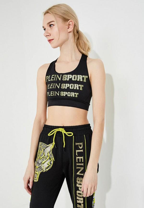 женский спортивный костюм plein sport, черный
