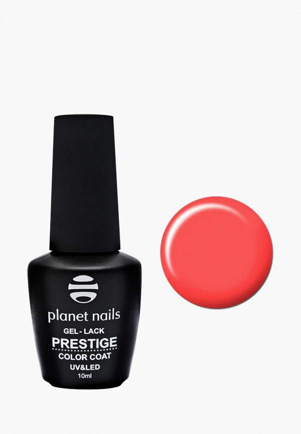 женский лак для ногтей planet nails, оранжевый