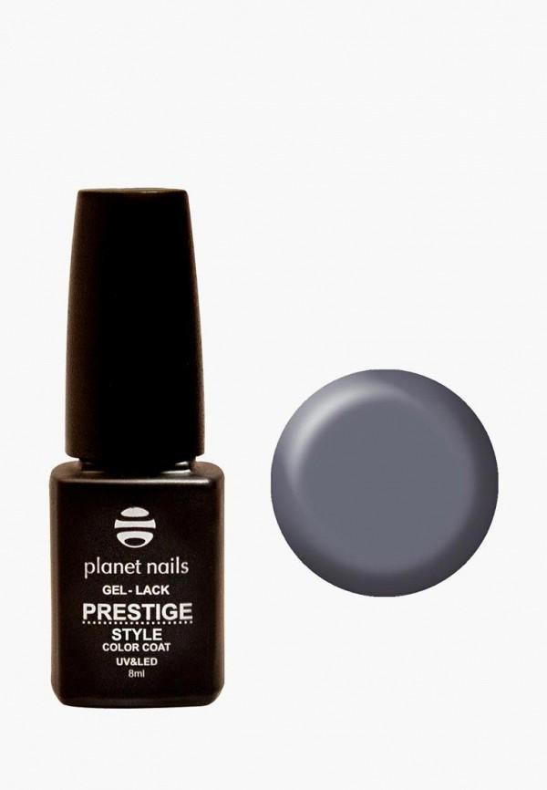лак для ногтей planet nails, серый