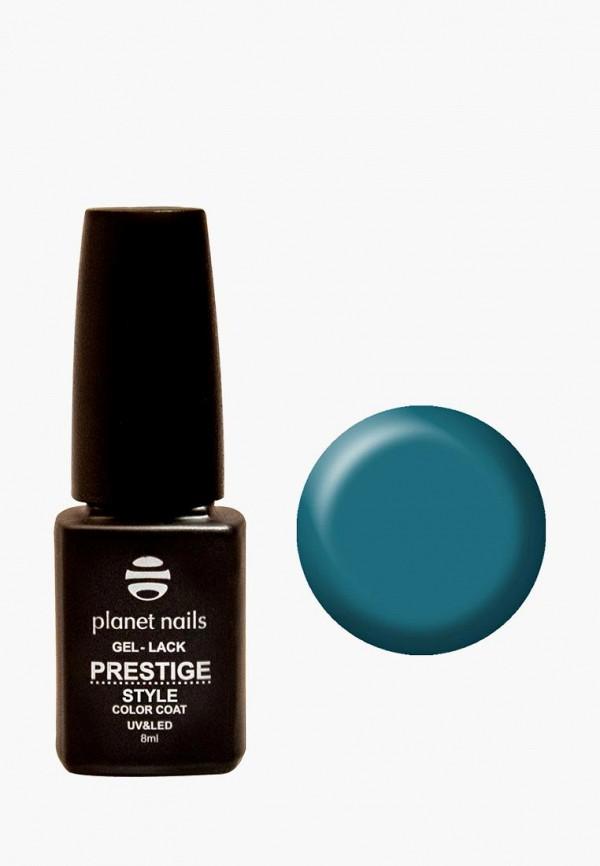 лак для ногтей planet nails, бирюзовый