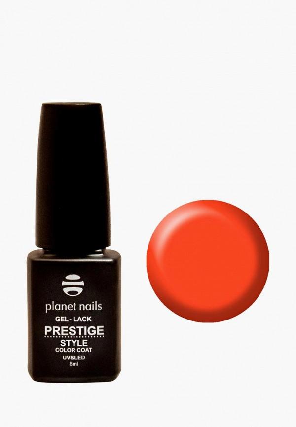 лак для ногтей planet nails, оранжевый