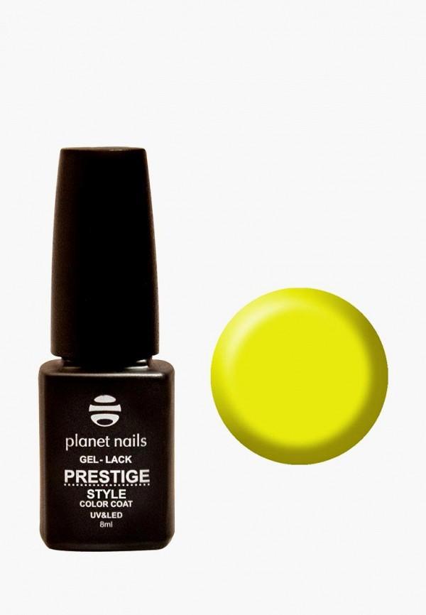 лак для ногтей planet nails, желтый