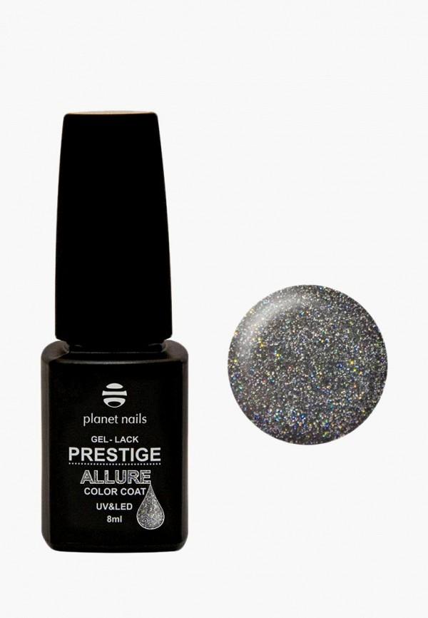 Купить Гель-лак для ногтей Planet Nails, PRESTIGE ALLURE - 646, 8 мл, PL009LWANHR0, серебряный, Осень-зима 2018/2019