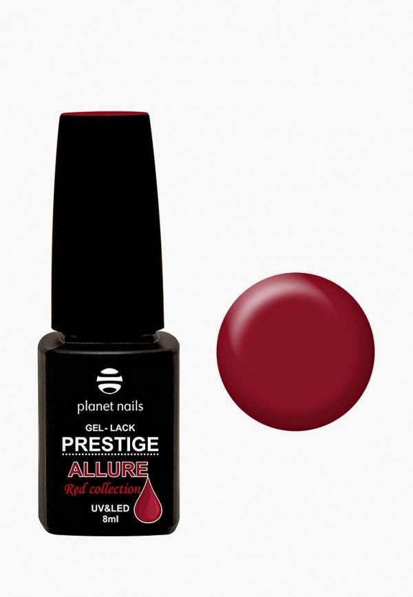 женский лак для ногтей planet nails, бордовый
