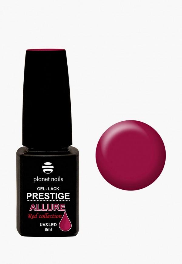 Купить Гель-лак для ногтей Planet Nails, PRESTIGE ALLURE Red Collection - 654 красный рубин, 8 мл, PL009LWCMAL6, розовый, Осень-зима 2018/2019