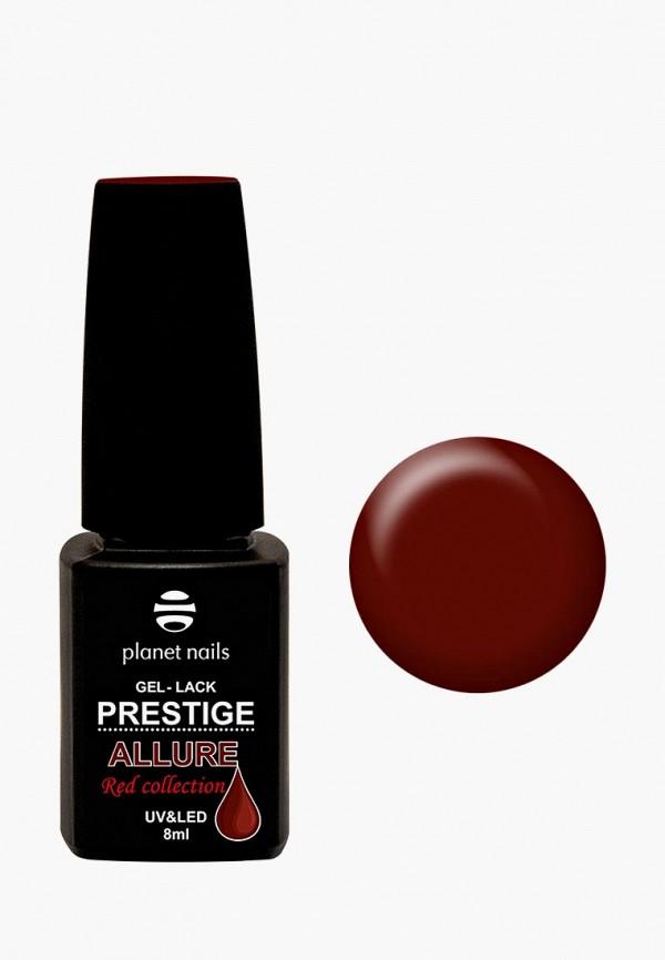 женский лак для ногтей planet nails, красный