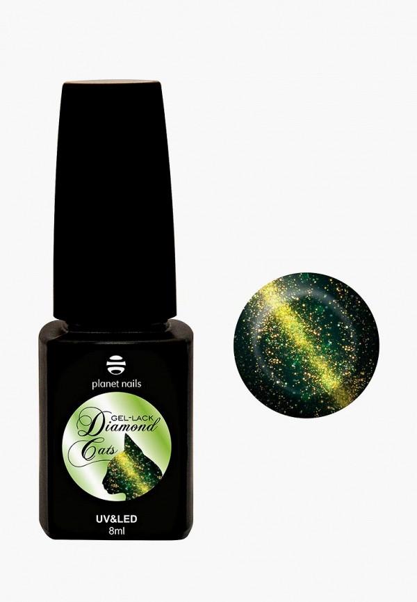 женский лак для ногтей planet nails, зеленый