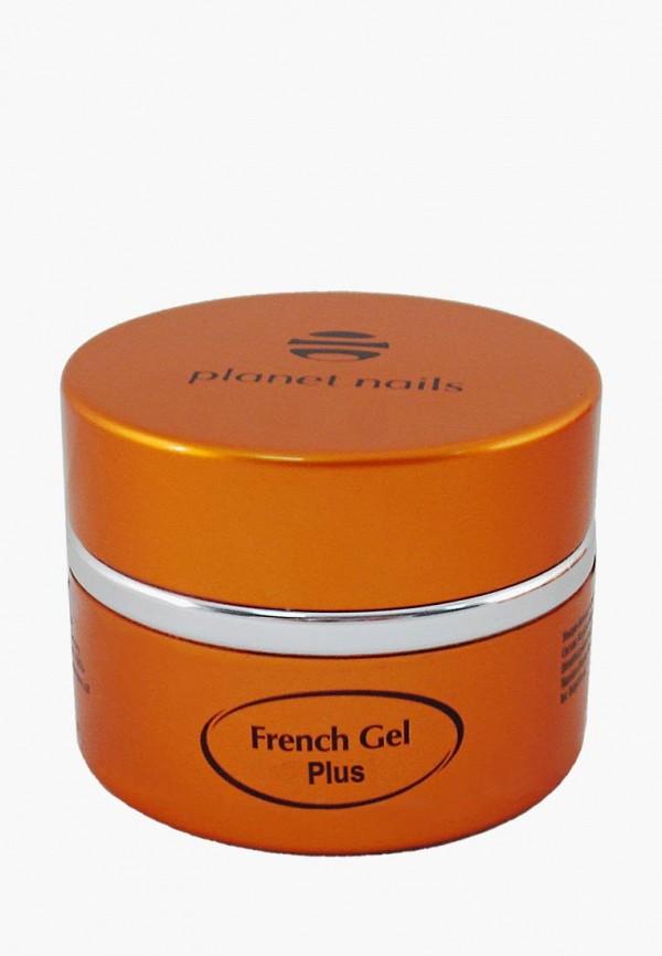 Гель-лак для ногтей Planet Nails, френч White Plus French Gel белый, 15 г, pl009lwcman2, Весна-лето 2019  - купить со скидкой