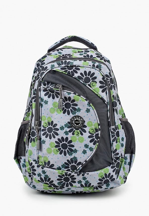 рюкзак polar для девочки, серый