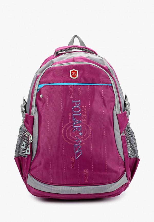 рюкзак polar для девочки, фиолетовый