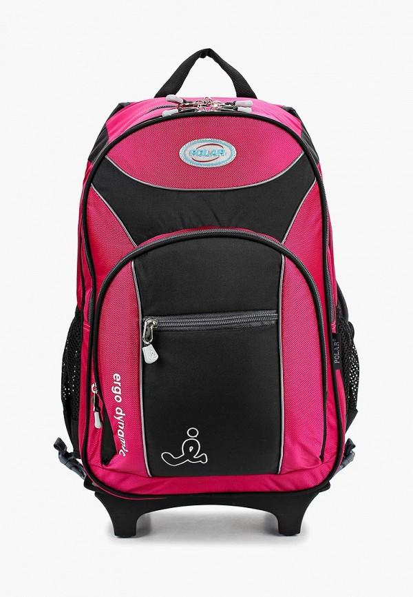 рюкзак polar для девочки, розовый
