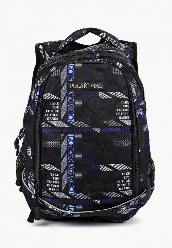 рюкзак polar малыши, черный