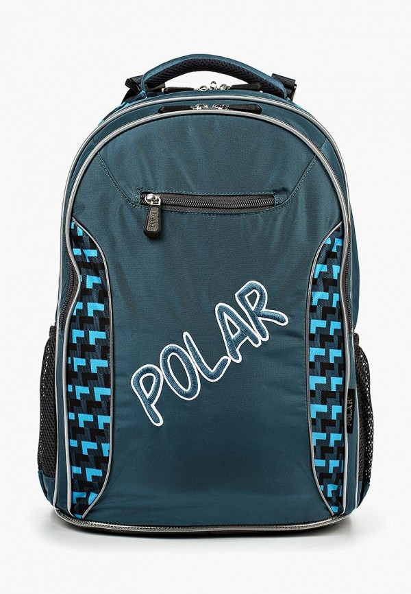 Купить Рюкзак Polar, бирюзовый, boys, Осень-зима 2018/2019, Рюкзаки